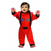 Traje De Astronauta Jr., Tamaño De 6 A 12 Meses (naranja)