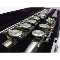 Flauta Transversal Yamaha Yfl-211sii Japan Prateada Linda!!!