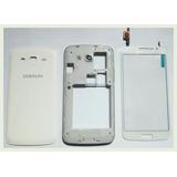 Kit Carcaça E Touch Samsung Galaxy Gran Duos 2 G7102 Sem Tv