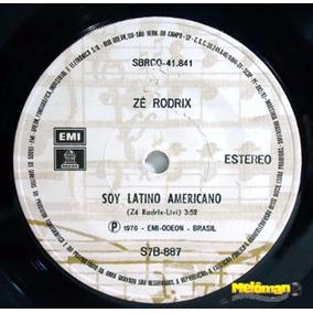 Zé Rodrix 1976 Soy Latino Americano Compacto Emi