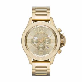 Reloj Ax Ax1504 Dorado 100%original Para Hombre Envío Gratis