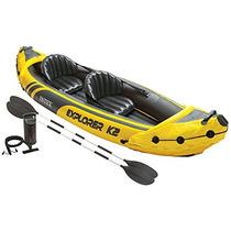 Intex Explorer Kayak K2, Kayak Inflable 2 Personas