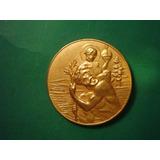 Medalla De San Cristobal Protector De Los Viajeros