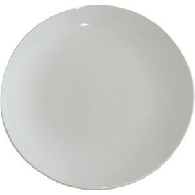 Plato De Porcelana 21 Cm X 24 Unidades Extra Blanco