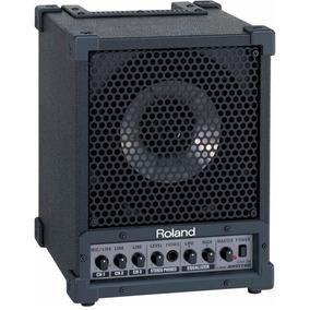 Caixa Monitor Roland Cm30 Amplificado Estudio Baixo Violão