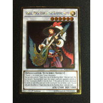 Yugioh Virgil Rock Star Of The Burning Abyss Gold Pgl3-en061