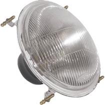 Bloco Farol Trator Mf Linha 200 S Lamp 4 Garra Sup (red Atd