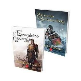 Kit 2 Livros Hqs -o Cavaleiro Andante + A Espada Juramentada