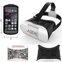 J-deal Gran Realidad Virtual Fov Vr 3d 3d Casco Auricular Ga
