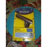 Micrófono Sony Tipo Boom, Ecm-hgz1, Para Videocámaras.
