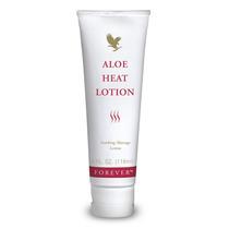 Creme Para Massagem Aloe Heat Lotion Forever - Doutorzinho