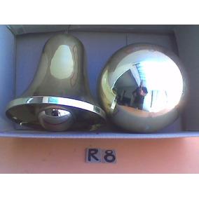 campana y bola doradas gigantes para navidadlote de