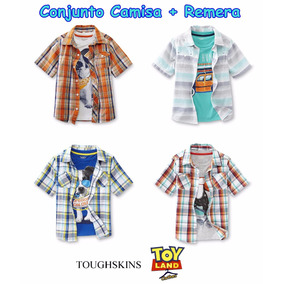 Conjunto Camisa + Remera Toughskins Varios Modelos