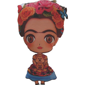 40 Llaveros Frida Kahlo Personalizados Souvenir Muñeca