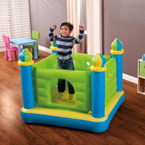 Brincolin Inflable Infantil Marca Intex Con Bomba Electrica