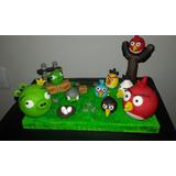 Centro De Torta De Angry Birds