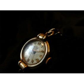 Antiguo Reloj Steelco De 19 Joyas Suizo Vintaje
