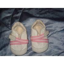 Preciosas Zapatillas P/ Beba Minimimo 10cm Cuerina - Palermo