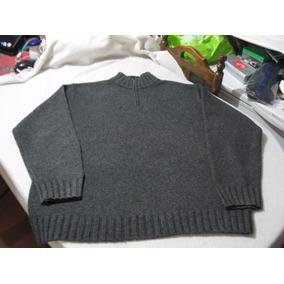 Sweater Lana De Oveja Cuello Con Medio Cierre Gap Talla Xl