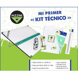 Kit Pizzini Tablero Dibujo Tecnico 50x60 Atril 6 Posiciones