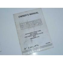 Manual Estereo Lasonic Lsa-9000 Cassette Auto Caballito
