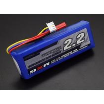 Bateria Lipo Turningy 2.2 3s Radio 9xr - Pronta Entrega.