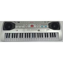 Teclado Piano Musical Infantil Sons Eletronico 49 Teclas