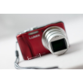 Camara Panasonic Dmc- Zs20 Red (tz30) + Memoria 16 Gb
