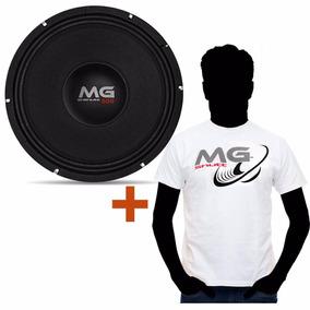 Woofer Shutt 12 Mg 600w Rms Médio Grave + Camiseta Shutt