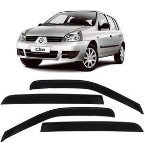 Calha De Chuva Acrilica Renault Clio Fase 2 - 4 Portas