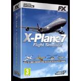 Simulador De Vuelo X-plane 7 Fx Interactive Juego Pc Windows