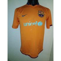 Barcelona 2007 Visita Talla Ch De Adulto Nike #10 Ronaldinho