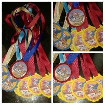 Medallas Para Fiestas Infantiles Invitados Especiales
