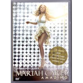 Dvd Mariah Carey - Amazing - Novo***