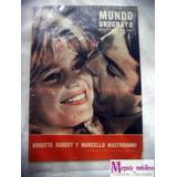 Mundo Uruguayo B Bardot Y Mastroianni Revista 1963