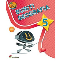 Livro Projeto Buriti Geografia 5° Ano C/ Dvd - Ed. Moderna