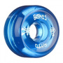 Rodas Bones Spf Clears P5 - 58mm Azul Transparente