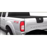 Lona Estruc Aluminio Cobertor Nissan Frontier 97/11 C/doble