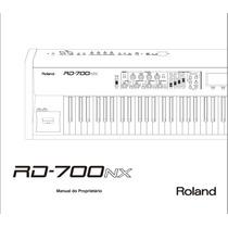 Manual Em Português Do Teclado Roland Rd-700nx