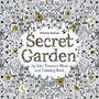 Secret Garden An Inky Treasure Hunt And Coloring Book Libro