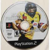 Ncaa Football 09 - Solo El Dvd / Playstation 2 Ps2