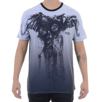 Camiseta Masculina Mcd Especial Crows And Roses