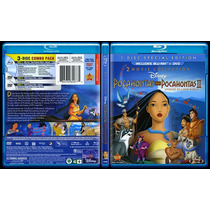 Blu Ray Dvd Combo Clasico Disney Pocahontas 1 Y 2 Tampico
