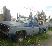 Chevrolet Pickup Sierra Classic 1981 8 Cil Completa Y Partes