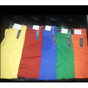 Pantalones Jeans Polo De Colores