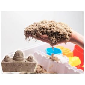 1 Kg Massinha Areia Cinética Viva Modelar Mágica Play Sand
