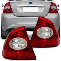 Lanterna Traseira Focus Sedan 09 10 11 12 13 Bicolor