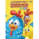 Kit C/ 4 Dvds Galinha Pintadinha Vol. 1 A 4 (992467)