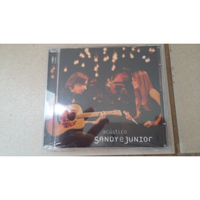 Cd Sandy E Junior Acustico Novo.