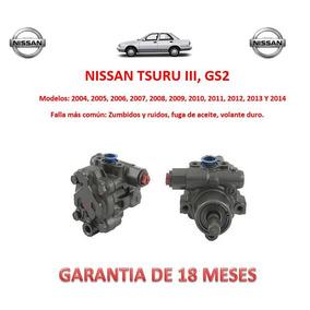 Bomba Licuadora Direccion Hidraulica Nissan Tsuru Iii 2009